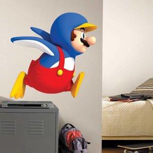 Nintendo Wii Penguin Mario Giant Wall Decal
