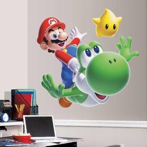 Nintendo Mario Yoshi Wall Decals