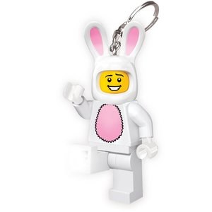 Lego Classic Bunny Suit Keychain Led Torch