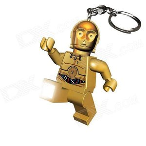 Lego Star Wars C3PO Keychain Led Torch
