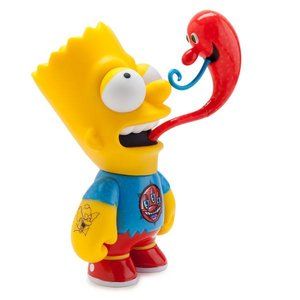 "Simpsons 6"" Bart by Kenny Scharf x Groenings"