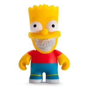 """Simpsons Bart Grin 3"""" by Ron English"""