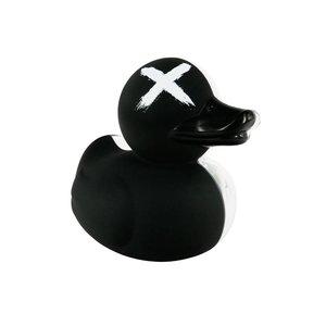 "Bathing Duck 4"" Black Anatomy by Jason Freeny"