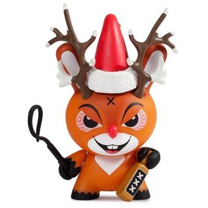 "Rise of Rudolph Holiday 3"" Dunny by Kozik"