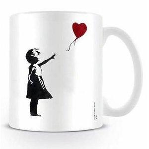 Banksy Girl With The Balloon Mug