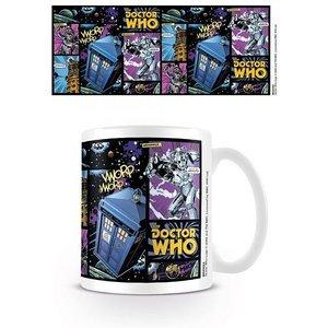 Doctor Who Comic Strip 300ml Mug