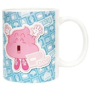 Dr Slump 300ml Unchi Pink Poop Ceramic Mug