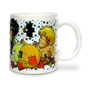 Dr Slump 300ml Characters Running Ceramic Mug