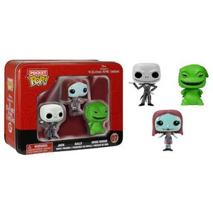 Pocket Pop! Tin NBX - Jack, Sally Oogie Boogie 3-Pack