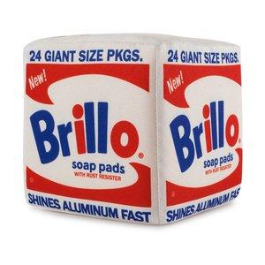 "Andy Warhol 7"" Brillo Box Plush"