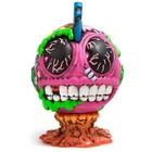 """Madballs Bothead 6"""" Kidrobot Bot Head logo"""