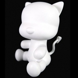 "Qee - White Do It Yourself 3,5"" Devil KitcatQ"