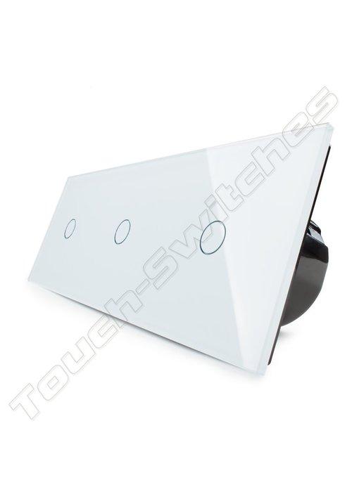 Livolo Touch-Schalter | 3 x einpolige