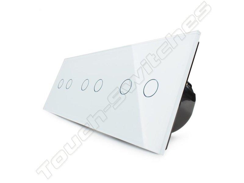 Livolo Design Touch Schakelaar | 3 x Serie | 3 Raams