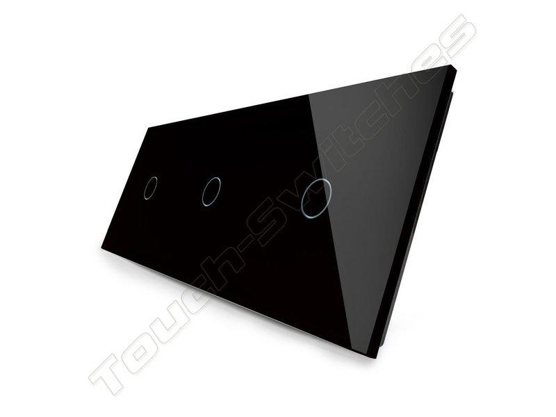 Livolo Design Touch Dimmer | 3 x 1-Polig | 3 Fach