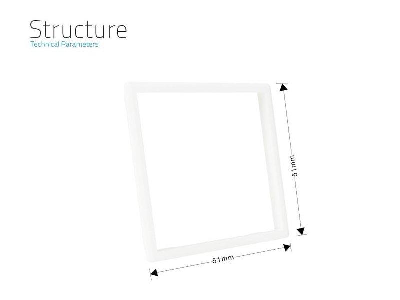 frame | Socket outlet (Frame edge to replace standard chrome frame wall socket)