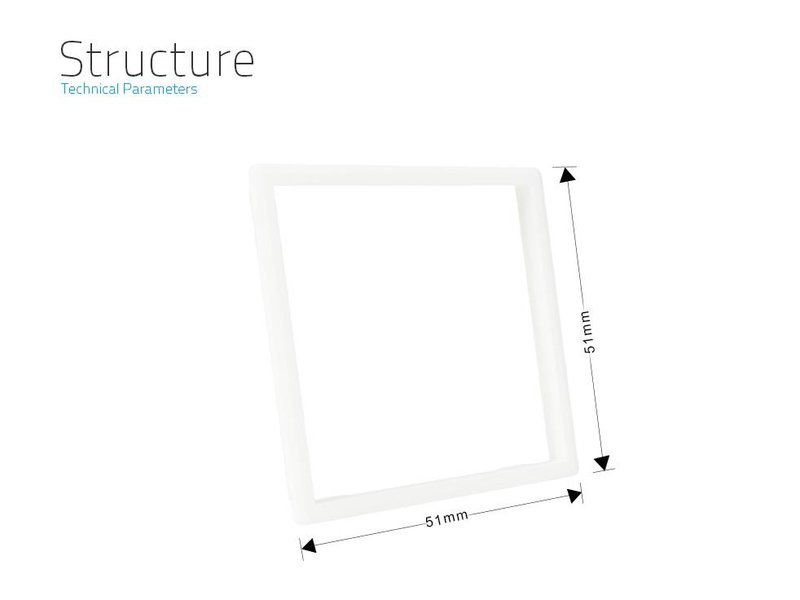 Livolo frame | Socket outlet (Frame edge to replace standard chrome frame wall socket)