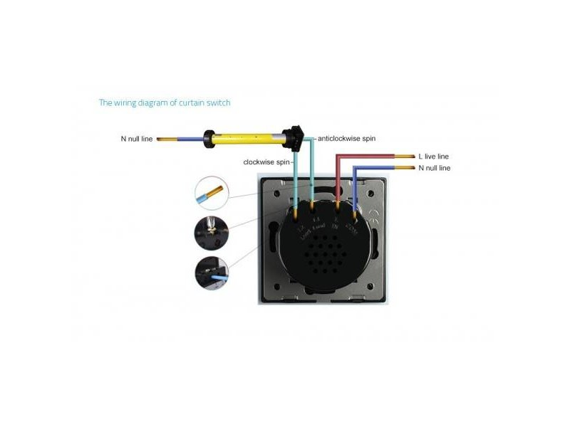 Livolo Design Touch Schakelaar   Zonwering   Rolluik   Module