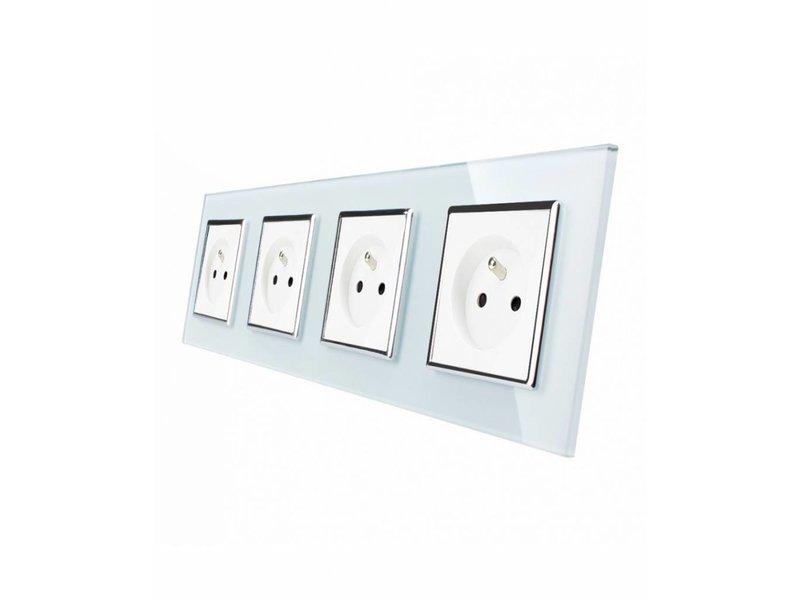 Design Socket | Quadruple | 4 Hole | FR
