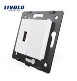 Livolo 1 X Design USB-Modul | 5V 2100 Mah | 1 Fach