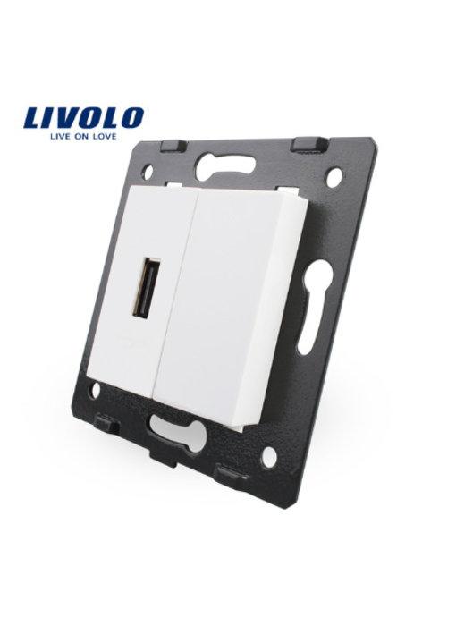 Livolo USB Module | 1 X USB | 1 Hole