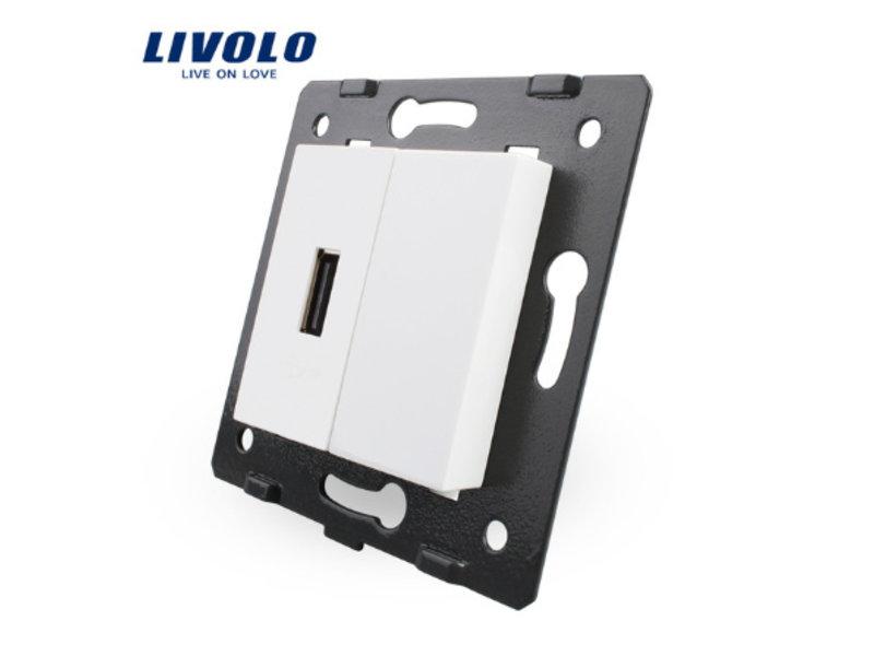 1 X Design USB-Modul | 5V 2100 Mah | 1 Fach