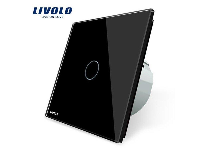 Livolo | Design Touch Schalter | unipolar | 1-polig | 1 Fach - Touch ...