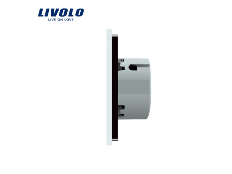 Livolo Design Touch Switch | 2 x 2-gang 1 Way | 1 Hole