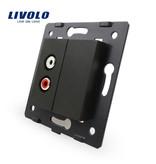 Livolo 1 X Design Audio Module | 1 Raam