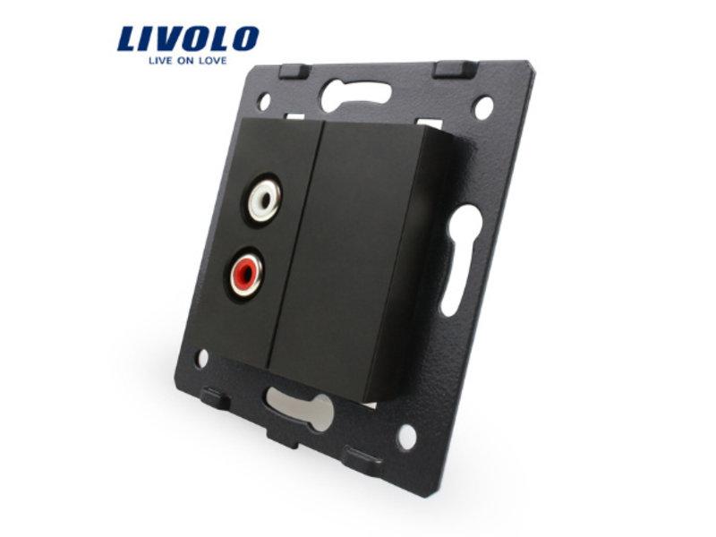 Livolo Design Module | Audio | 1 X Audio | 1 Hole