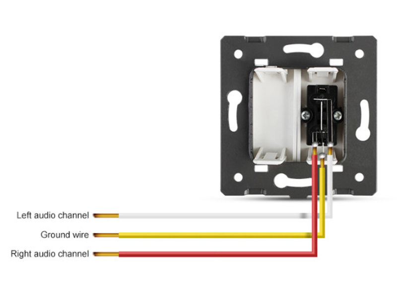 Livolo 2 X Design Audio Module | 1 Raam