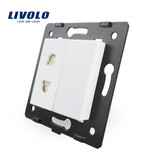 Livolo Design Module | Socket Module | Single | 1 Hole