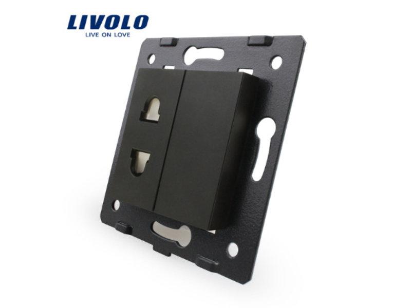 Livolo 1 X Design Steckdose Modul | 1 Fach