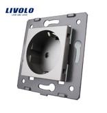 Livolo Design Socket Module | Single | EU