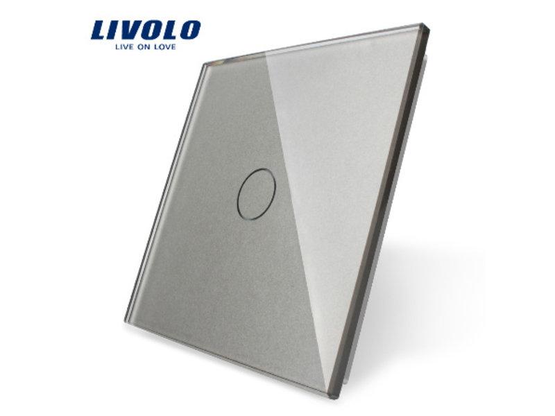 Livolo Design Glaspaneel   Enkelpolig   1 Raams