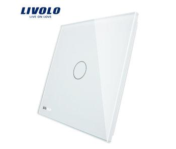 Livolo Glaspaneel | Enkelpolig