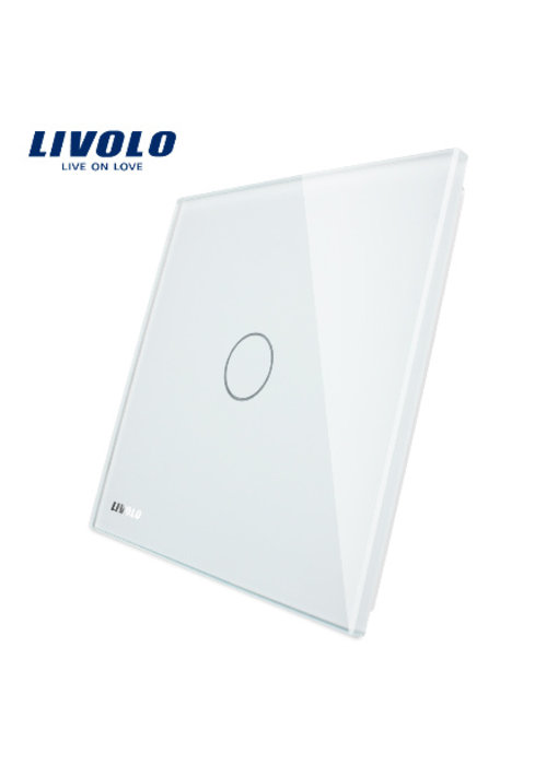 Livolo Glass Panel | 1-Gang