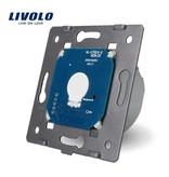Livolo Design Touch Switch Module Single pole | Suitable for Fibaro | 1 Window