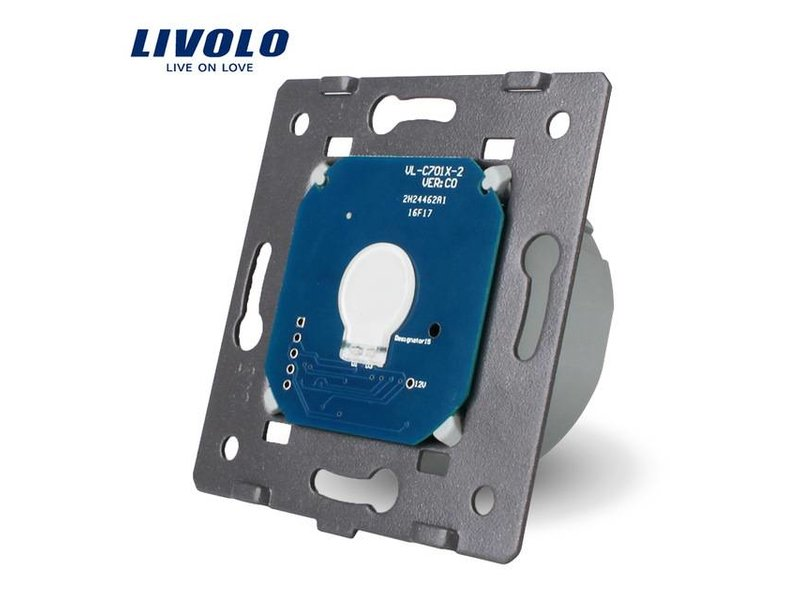 Design Touch Switch Module Single pole | Suitable for Fibaro | 1 Hole
