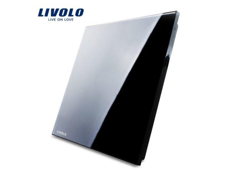 Livolo Design Glasplatte | Blindplatte | 1 Fach