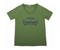 Émile et Ida T-shirt Green Chevrolet