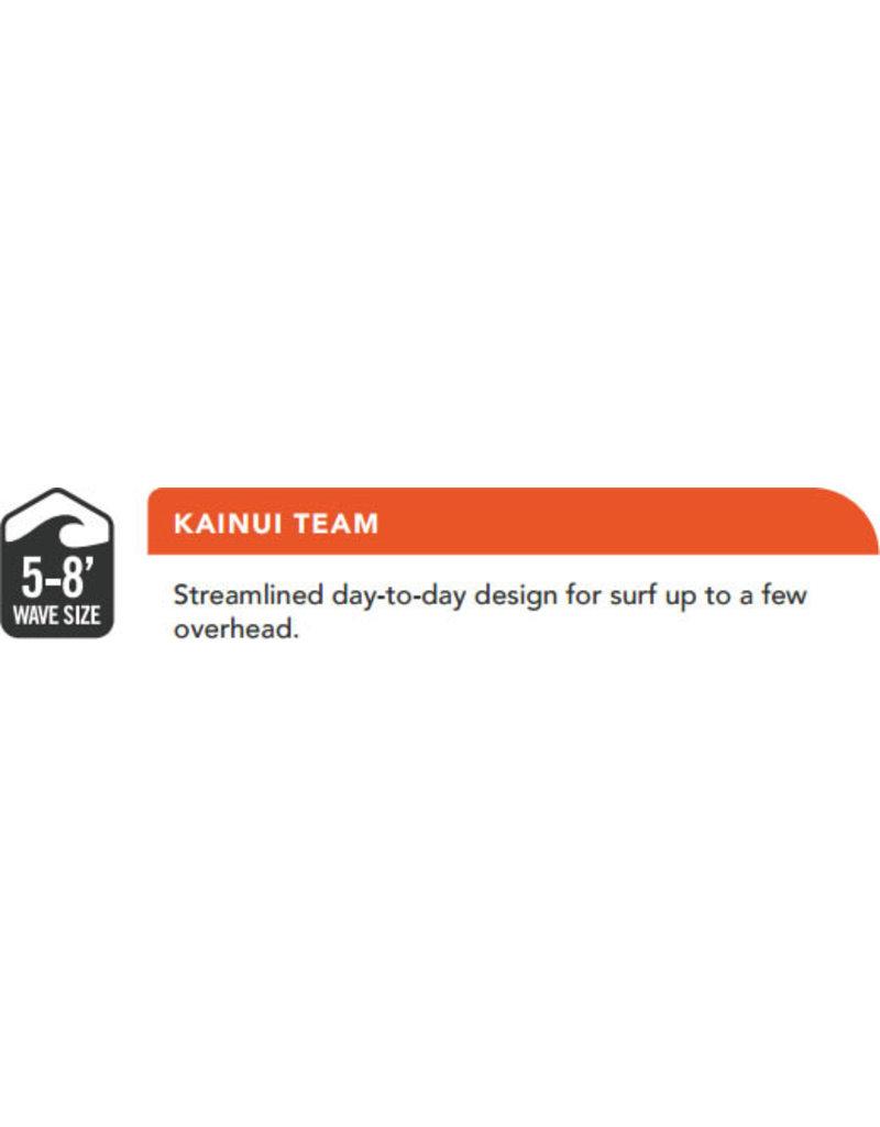 """DAKINE Kainui Team 6'x 1/4"""" Surf Leash Irons Black"""