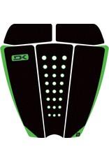 DAKINE John John Florence Pro Pad Black/Green Tractie Surfboard