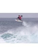 "DAKINE John John Florence Kainui  8'x 1/4"" Surf Leash  Black/Green"