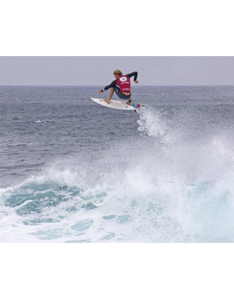 "DAKINE John John Florence Comp 6'x 3/16"" Surf Leash  Black/Orange"