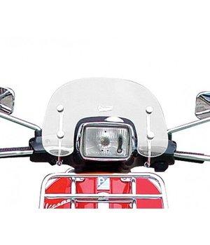 Origineel Vespa S laag windscherm incl. bevestigingsbeugels