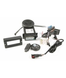 Piaggio Alarm E-lux compact met backup stroom