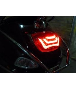 DMP Led achterlicht Vespa LX/S/LXV Audi Look Achterlamp