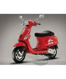Stickerset Vespa LX / S / LXV UK engelse vlag