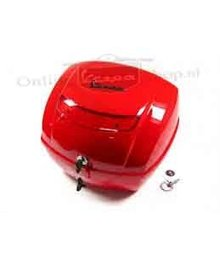 Vespa Originele Vespa koffer rood dragon 894 LX/S/LXV